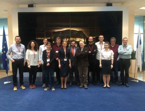 GIMS project meeting @EU_GNSS in Prague